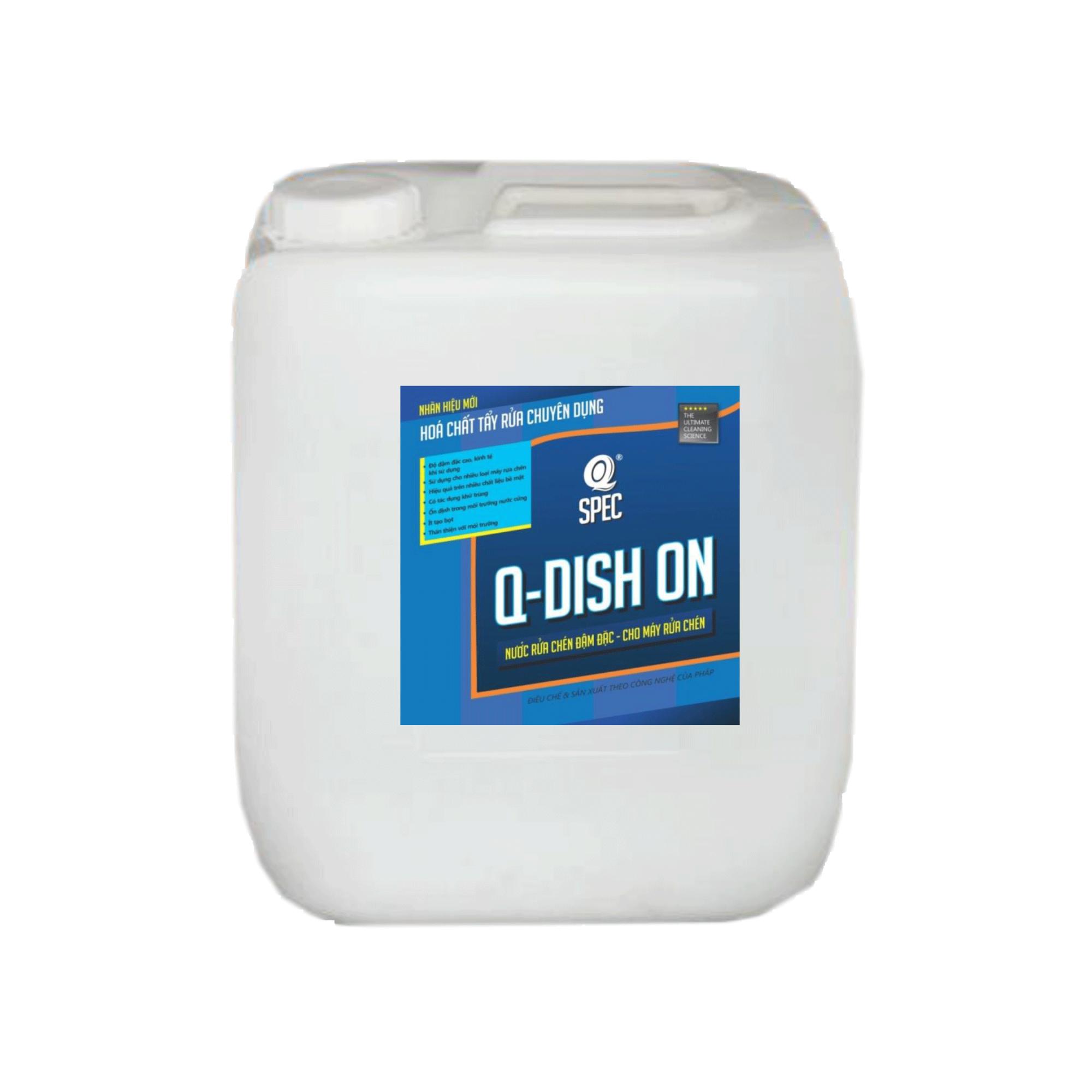 Nước rửa chén đậm đặc dành cho máy rửa chén AVCO Q-Dish On 20ml