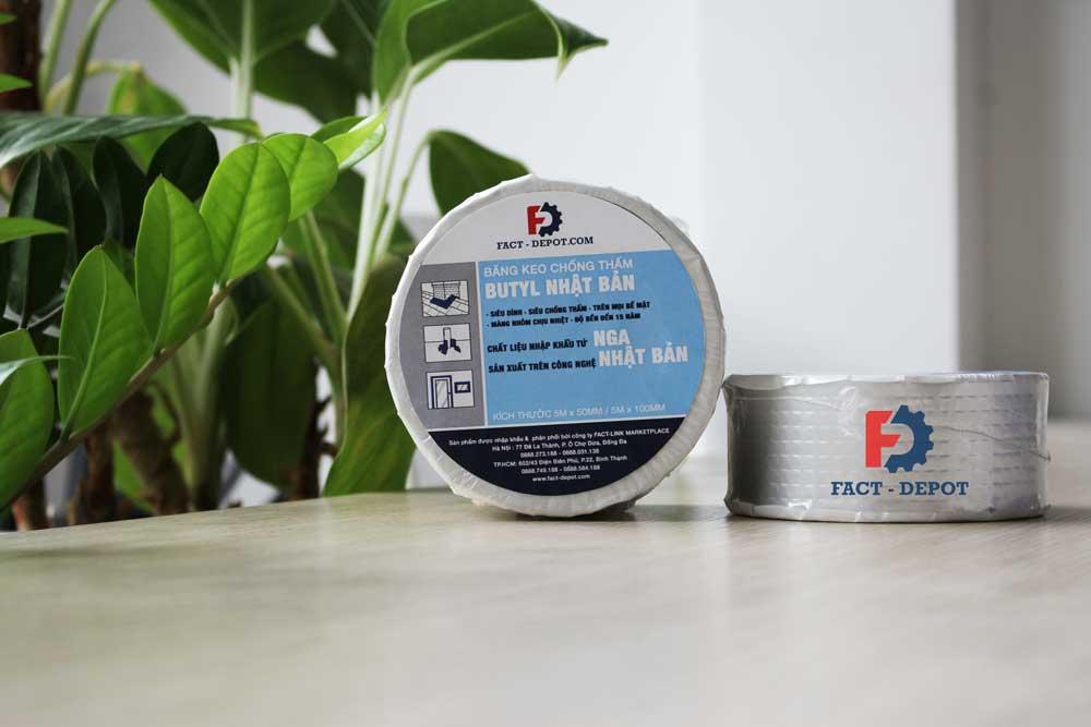 Băng keo chống thấm Nhật Bản Butyl tại Fact-Depot