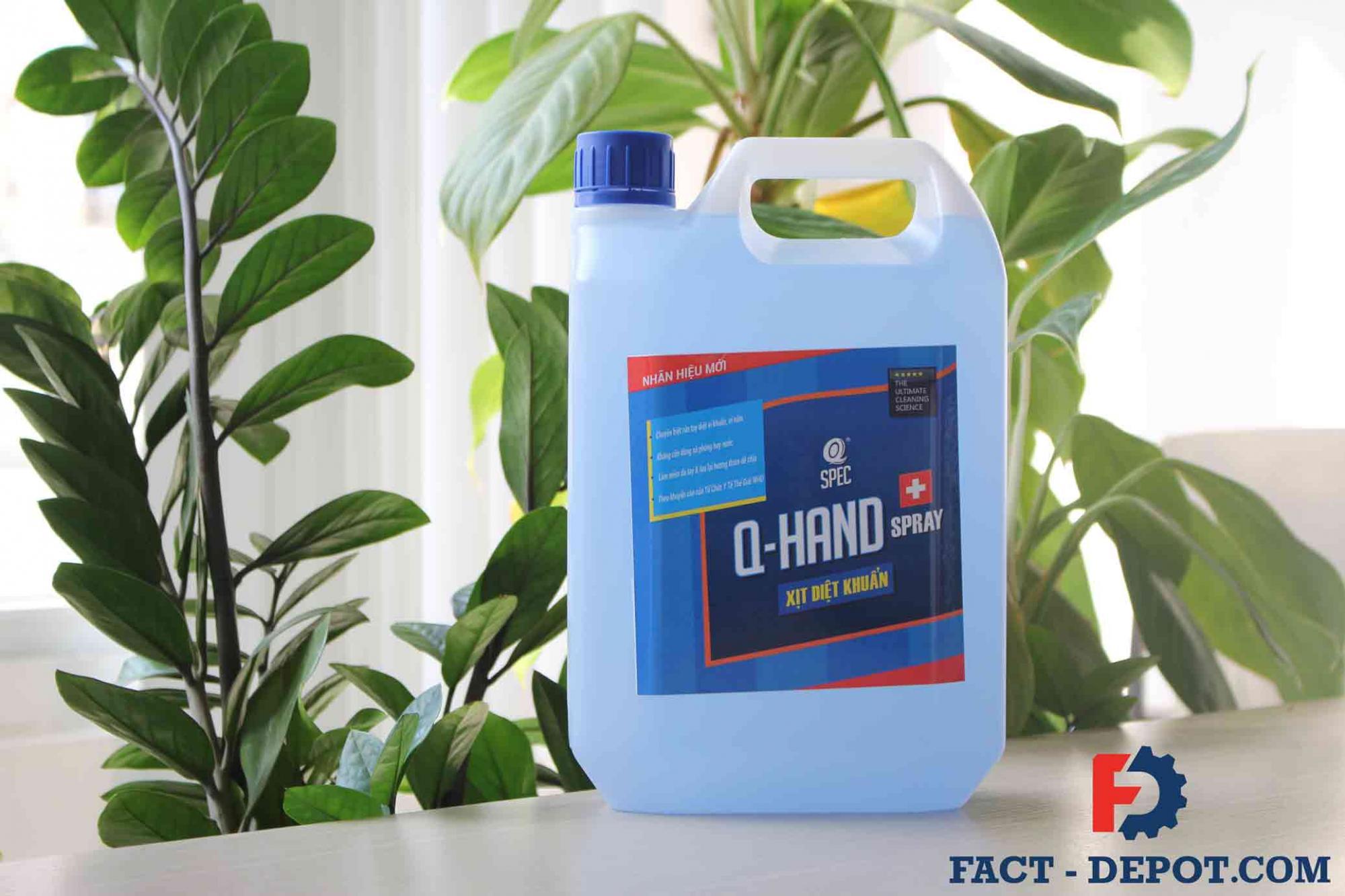 dung dịch rửa tay khô AVCO Q-HAND SPRAY