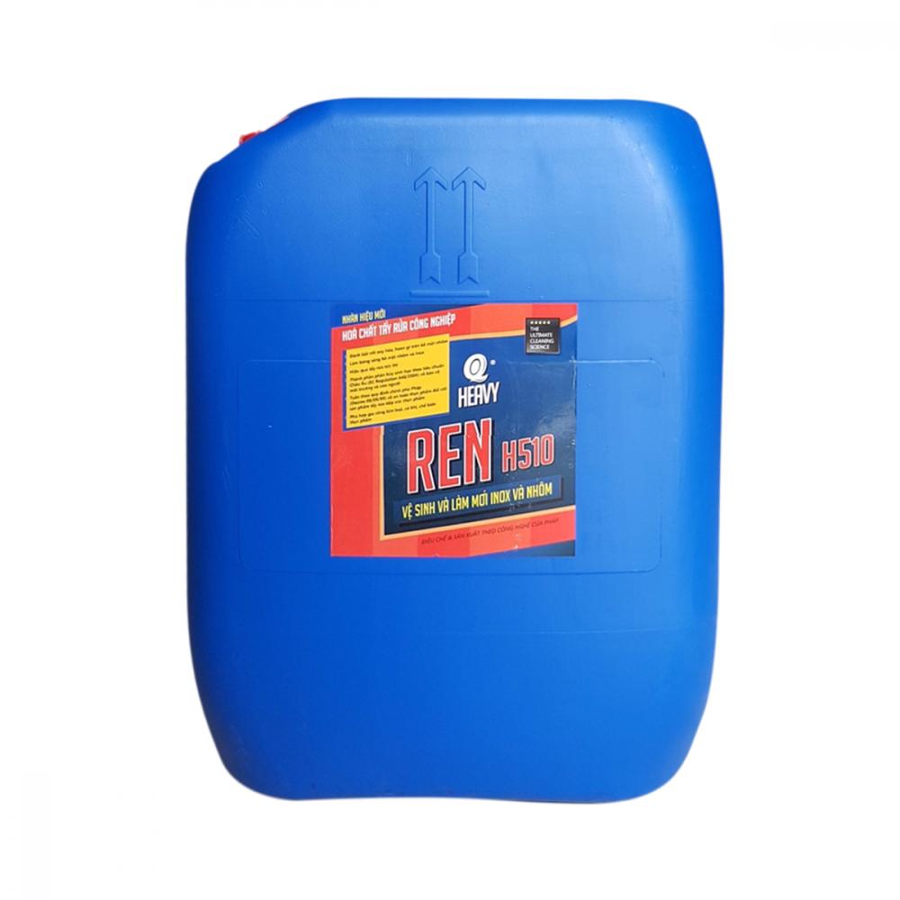 dung dịch vệ sinh và làm mới Inox, nhôm AVCO REN H-510