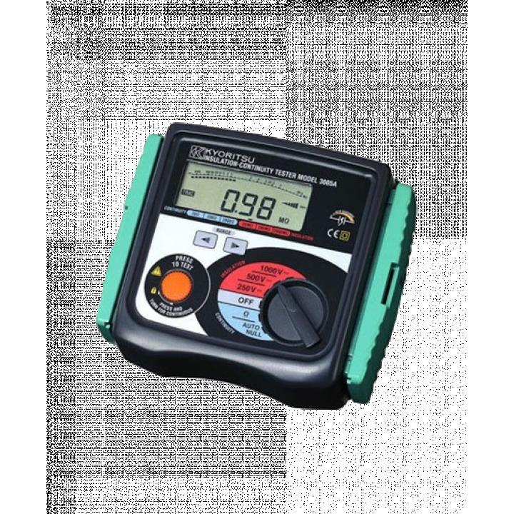 Kết quả hình ảnh cho cách sử dụng đồng hồ đo điện trở cách điện kyoritsu 3005a