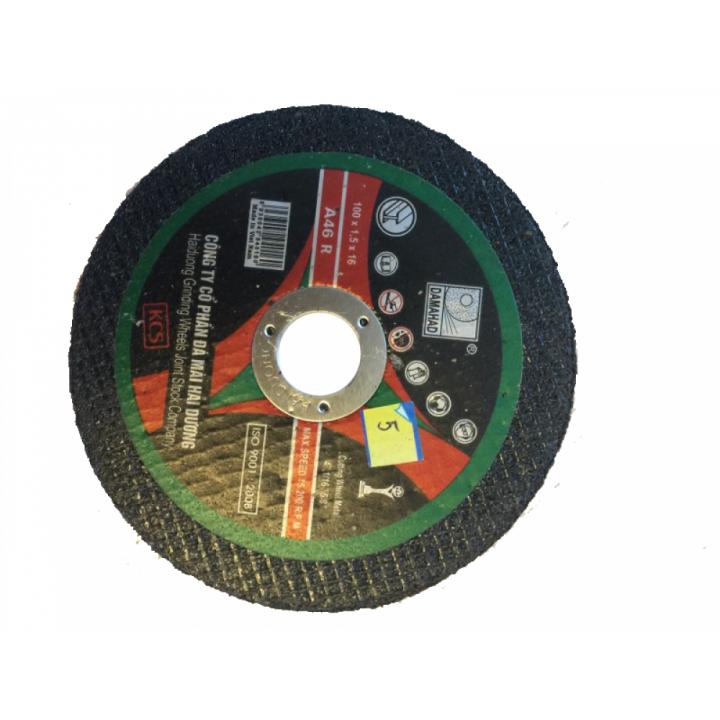 Đá cắt kim loại Hải Dương 100 mm (hộp 50 viên)