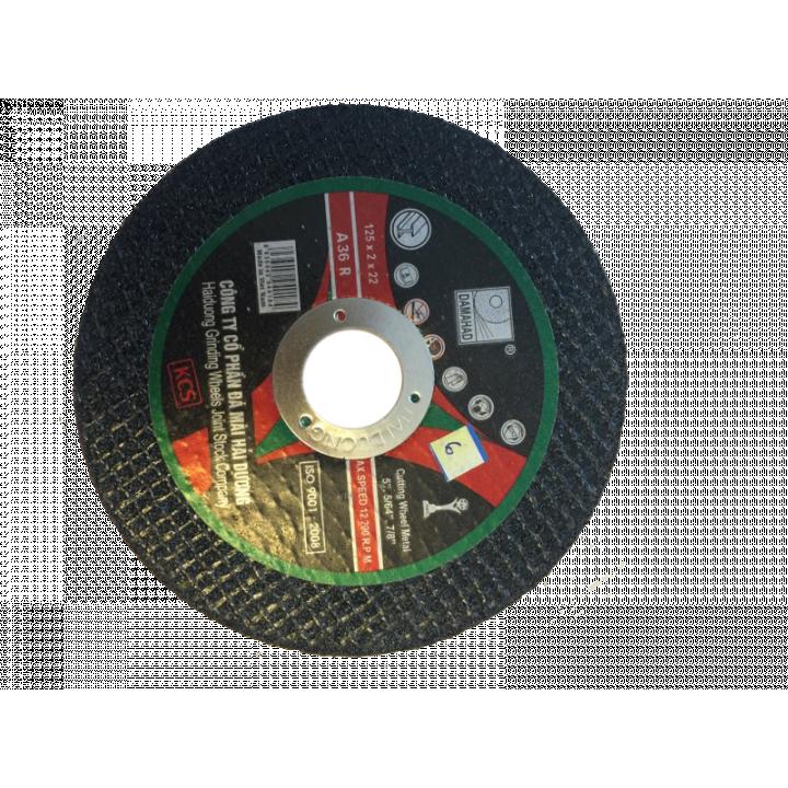 Đá cắt kim loại Hải Dương 125 mm (hộp 50 viên)