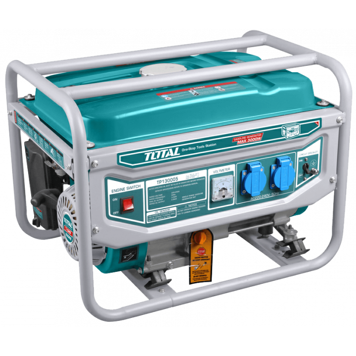 Máy phát điện dùng xăng Total TP130005